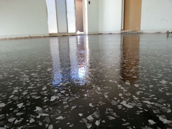 High Gloss Garage Floor Coating