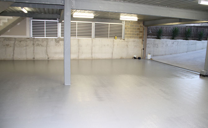 Concrete flooring resurfacing adelaide epoxy flooring for Garage flooring adelaide